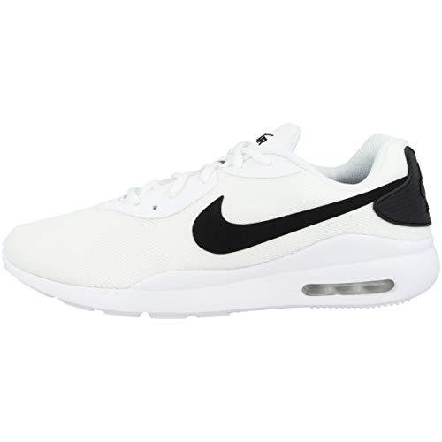 Nike Air MAX Oketo Hombre Running Trainers AQ2235 Sneakers Zapatos (UK 7 US 8 EU 41, White Black 100)
