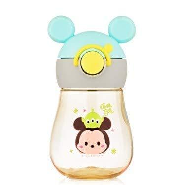 Chanety,taza de agua aislada,taza de agua Disney Children Boting Water Cup Taza de dibujos animados Portátil Kindergarten Plástico Anti-Drop Great Historieto Dibujos animados PPSU Botella de agua taza