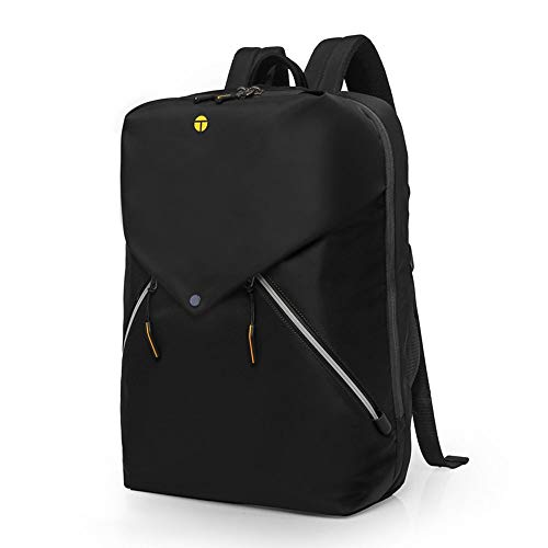 DKee outdoor backpack Ladies Casual Computer Bag Light Student Bag Outdoor Travel Multi-function Backpack Male Waterproof Anti-theft 20L (Color : Black)