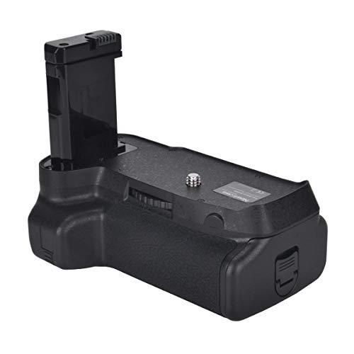 Newmowa Mango de Repuesto Battery Grip para Nikon D3400 Cámara réflex Digital