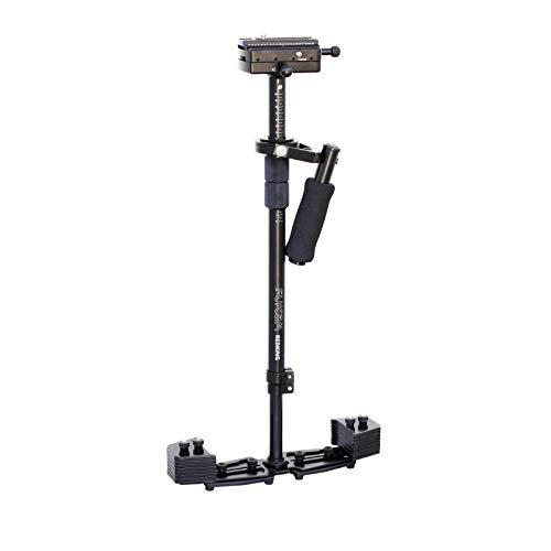 FLYCAM Redking Quick Balancing Videokamera-Stabilisator mit Schwalbenschwanz-Schnellentriegelung (FLCM-RK), professioneller CNC-Aluminium-Kamera-Stabilisator für kamera bis 7 kg, inkl. Tasche