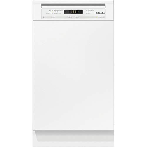 Lavavajillas de libre instalación G 4722 SC Ecoflex LI, con preselección de hora de inicio y bandeja portacubiertos, A++, color blanco, 60 x 44,8 x 84,5 centímetros (referencia: Miele 21472216E)