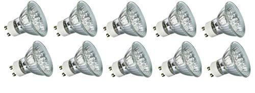 10x Paulmann Sparpack LED GU10 Reflektor Reflektorlampe 230V 6500K Tageslichtweiß 1 Watt 1W 28011 280.11
