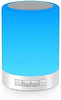 Elecstars Smart Touch Control Bluetooth Speaker Lamp