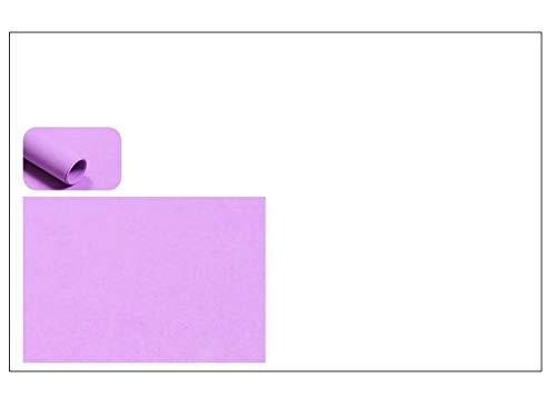 NOBRAND Goma Eva 40x60 Grosor 2MM, 10 Láminas Color Violeta Claro.