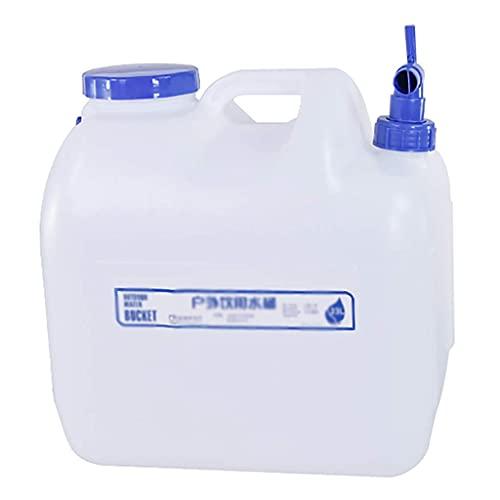 GAXQFEI Recipiente de Agua Portátil con Grifo, Dispensador de Agua para Nevera con Alenamiento de Agua Del Grifo para Recorridos Autónomos en el Hogar O el Automóvil,23L