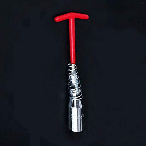 Llave de bujía BE-TOOL, herramienta de extracción de bujía, mango en T, junta universal para cierre y demolición