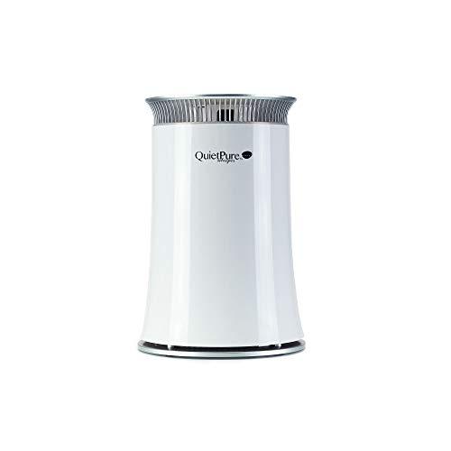 QuietPure Whisper Bedroom Air Purifier - 3 Stage HEPA...