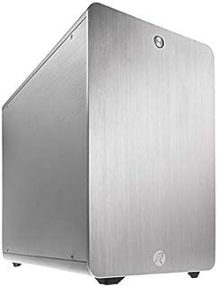 RAIJINTEK Styx Classic Plata - Caja de Ordenador (PC, Aluminio, Plata, Micro ATX,Mini-ITX, 18 cm, 28 cm)