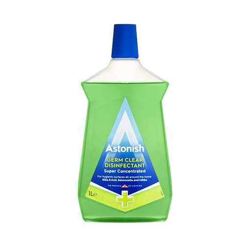 Astonish Multi-Purpose Super Concentrated Germ Clear Disinfectant, 1L, Natural Pine