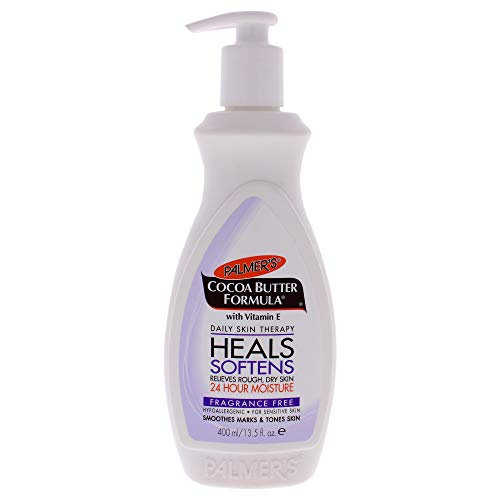Cocoa Butter Fragrance-Free Body Lotion by Palmers for Unisex - 13.5 oz Body Lotion