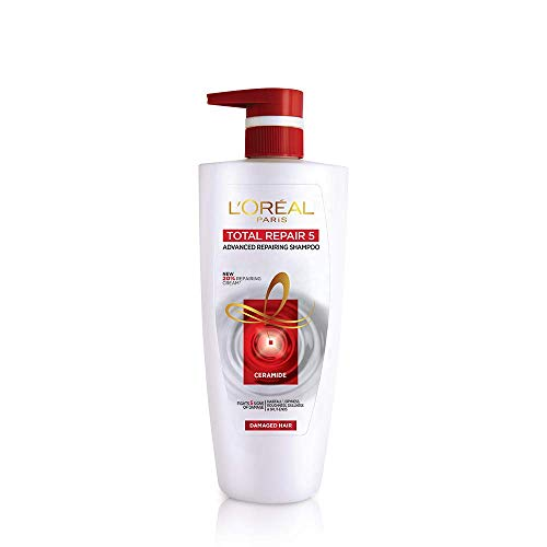 L'Oreal Paris Total Repair 5 Shampoo (640ml + 64ml = 704 ml)