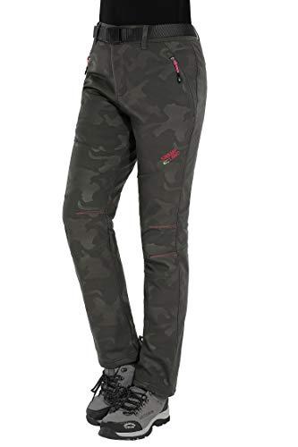 HAINES Pantaloni Trekking Donna Impermeabili...