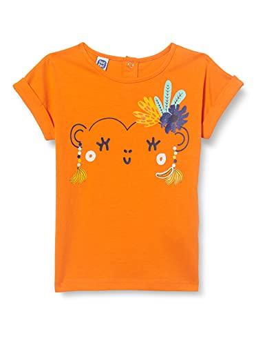 Tuc Tuc Camiseta Punto Tropicool, Naranja, 3A para Niñas