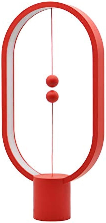TDMBM Nachtlicht Intelligentes LED-Licht USB, Das Innendekoration Schlafzimmerlampe Kreative Weihnachtskindergeschenke Aufldt (Rot)