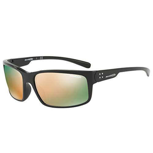 Arnette 0AN4242 41/4Z 62 Gafas de sol, Negro (Black/Greymirrorrosegold), Hombre