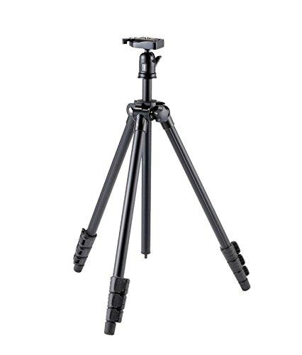 Velbon Sherpa 3430Q Digitale film/camera's zwart statief (digitale camera's, 2,5 kg, 3 voeten, 153 cm, zwart, 11,4 cm)