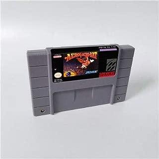 Game card - Game Cartridge 16 Bit SNES , Game Aero the Acrobat 1- Action Game Card US Version English Language