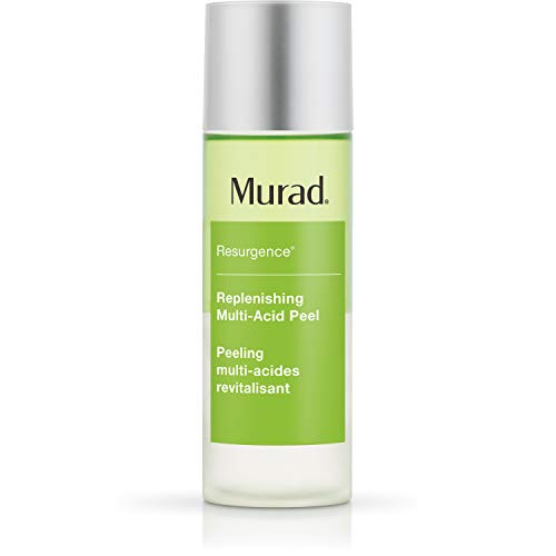Murad Resurgence Replenishing Multi-Acid Peel - AHA / BHA Salicylic and Glycolic Acid Peel - Skin Renewing Face Peel - Daily Facial Peel Skin Care Treatment, 3.3 Fl Oz