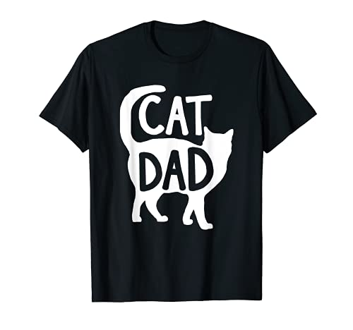 Best Cat Dad Fathers Day Men Kitty Daddy Papa Christmas Gift T-Shirt