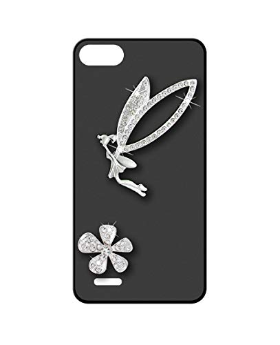 Sunrive Kompatibel mit Elephone S2 Hülle Silikon,Glitzer Diamant Strass Handyhülle matt Schutzhülle Etui 3D Hülle Backcover (Elfen) MEHRWEG+Gratis Universal Eingabestift
