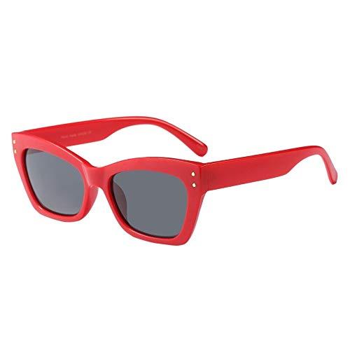 ZEZKT gafas de sol para mujer y hombre gafas de sol creativas con ojos de gato europa y américa unisex moda casual sunglasses rapper C