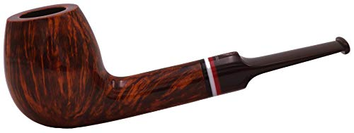 GERMANUS Tabaco pipa - Made in Germany - de fumar de madera, Leipzig, Lovat, Straight Pipe