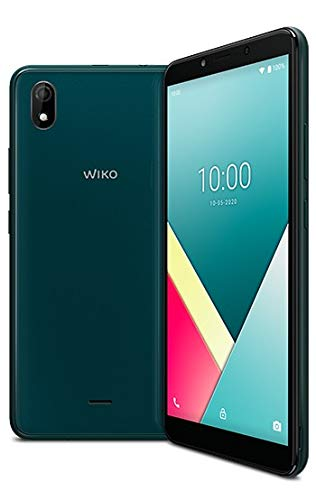 WIKO Y61 Smartphone, 6 Zoll (15,24 cm), 4G, Dual-SIM, Android 10 inkl, Deep Green [Import Ware]