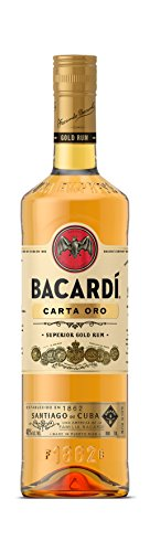 Bacardi Rum Carta Oro - 1000 ml