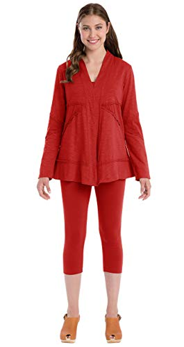 Neon Buddha Women's Forever Young Jacket, Vibrant Red, X-Large