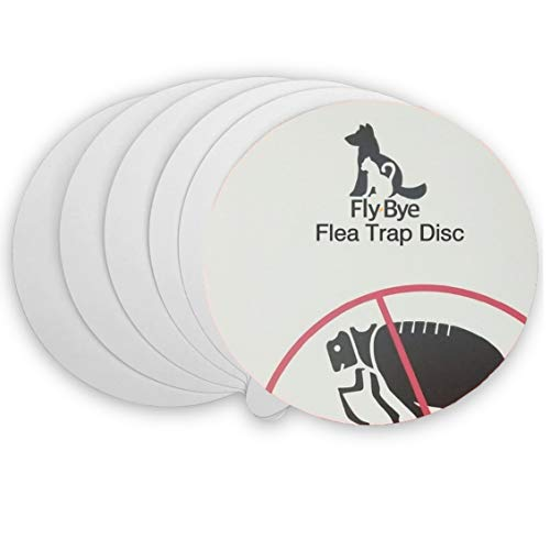 Fly-Bye - 6x Flea Trap Replacements Discs/Pads