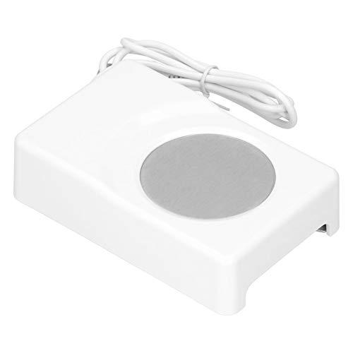 Pinsofy Posavasos eléctrico, Apariencia Simple, Alta Seguridad, Posavasos de enfriamiento con calefacción, compacta de calefacción y portátil Durable para Oficina, Tazas de Fondo Plano,
