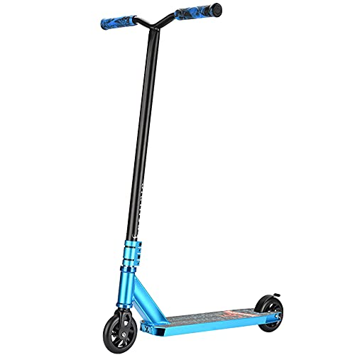 YUNLILI De múltiples Fines Pro Scooters for Adolescentes Adultos y niños Cool Trick Scooters for Stunts Freestyle Stunt Scooter Pro Scotter for Scooter Park Profesional -B/B (Color : A)