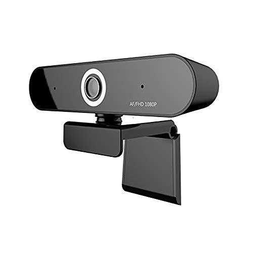 BMG 1080P Webcam, Auto Focus Computer Camera, 90 graden Extended View gezichtscam met dubbele microfoon voor pc, laptops en desktop