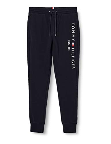 Tommy Hilfiger Herren Basic Branded Sweatpants Hose, Blue, X-Large