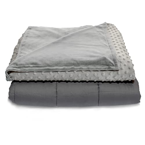 Quility Weighted Blanket with Soft Cover - 25...