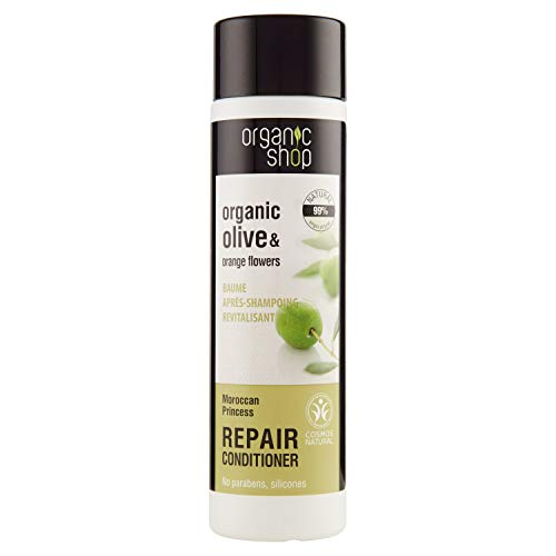 Organic Shop Balsamo Ristrutturante Olive & Orange Flowers - 280 ml