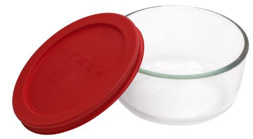 Pyrex Simply Store 2-Cup Round Glass Food Storage Dish by Pyrex