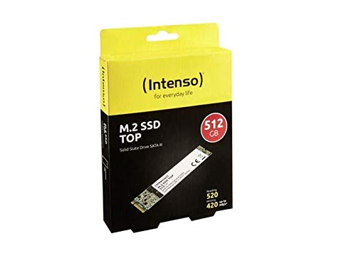 'Intenso 3832450 Top Performance interno SSD, M.2 SATA III
