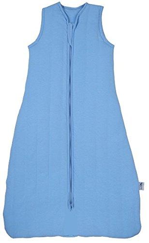 Repetición Saco Dormir ligeramente forrado Primavera/Verano 1.0tog–Disponible en varios tamaños y colores azul azul Talla:130 cm