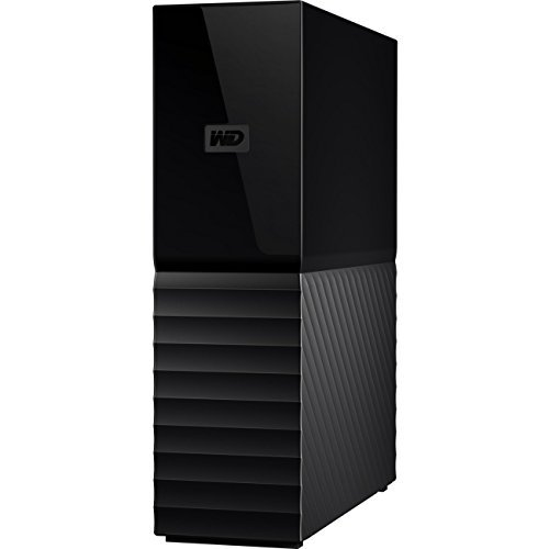 WD 8TB My Book Desktop External Hard Drive, USB 3.0 - WDBBGB0080HBK-NESN,Black