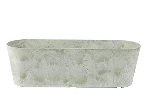 Artstone Balkonkasten, Claire, frostbeständig und leichtgewichtig, eukalyptus, 55x16x17 cm, 136215