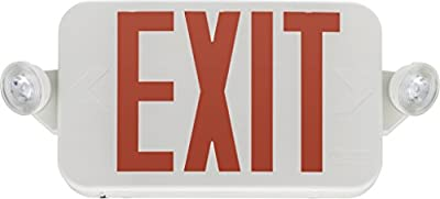 Lithonia Lighting ECC G M6 Exit/Emergency Sign, T20 Compliant