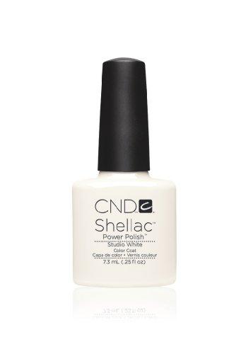 Cnd Shellac Studio White Esmalte en Gel - 7.3 ml