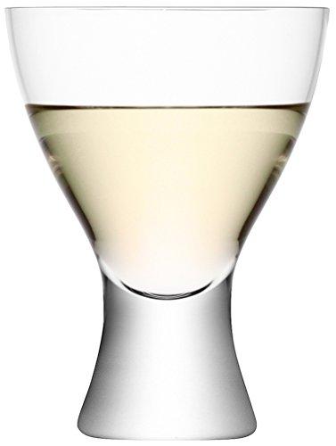LSA International Elina - Vaso para Agua o Vino, 2 Unidades, Transparente, Transparente, 400 ml