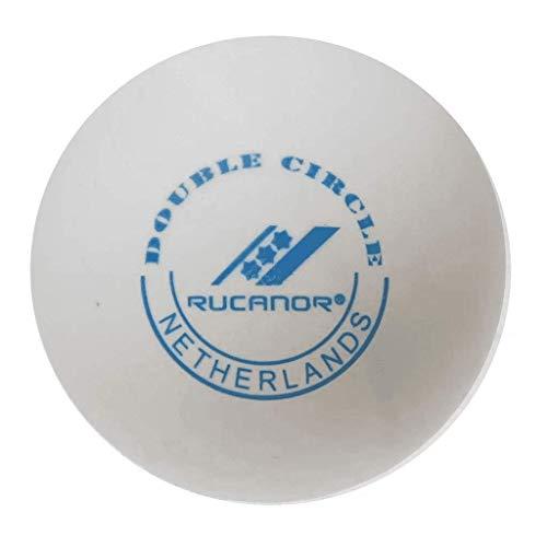 Rucanor Tischtennisbälle 6er set ( Weiß )