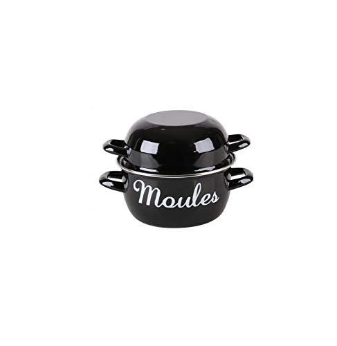 Casserole à Moules - D 20 Cm - Noir