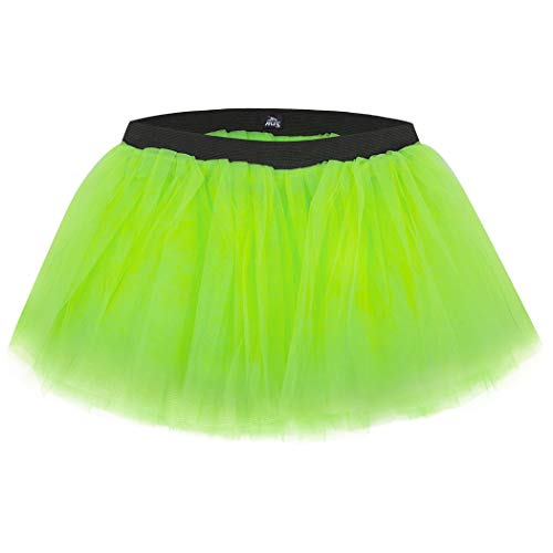 Runners Tutu by Gone For a Run | Lightweight | One Size Fits Most | Neon Green
