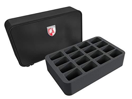 Feldherr Mini Case Compatible with 16 Blood Bowl Miniatures - 2016 Edition