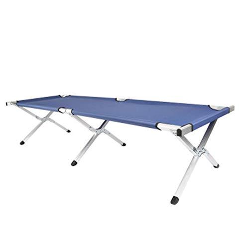 Zhicaikeji Camas para Acampar Copa de Campamento Plegable Cama para Acampar al Aire Libre para Adultos Configure fácilmente con la Bolsa de la Bolsa de hasta 150kg para Exterior